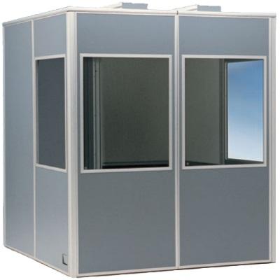 закрытая кабинка для перевода языка