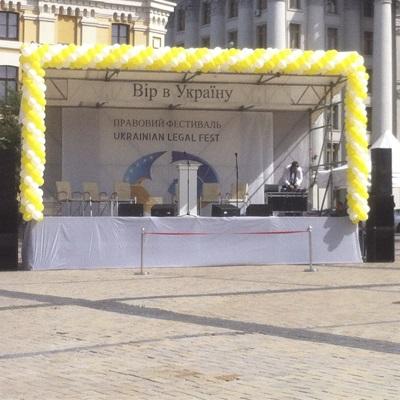 Аренда сборных сцен и подиумов киев
